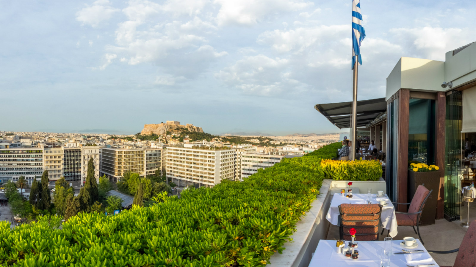 GB Roof Garden Restaurant & Bar at Hotel Grande Bretagne, a Luxury Collection Hotel, Athens
