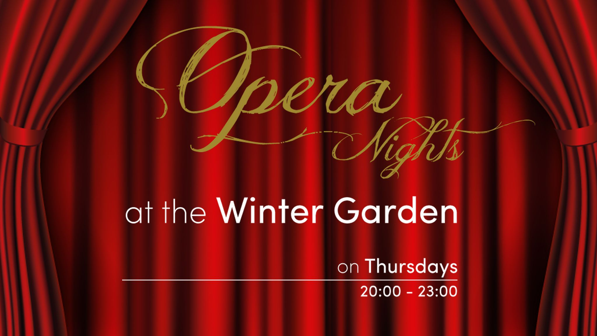 Opera Nights at the Winter Garden - Hotel Grande Bretagne
